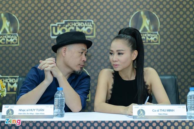 Thu Minh,  Huy Tuan show moi anh 7