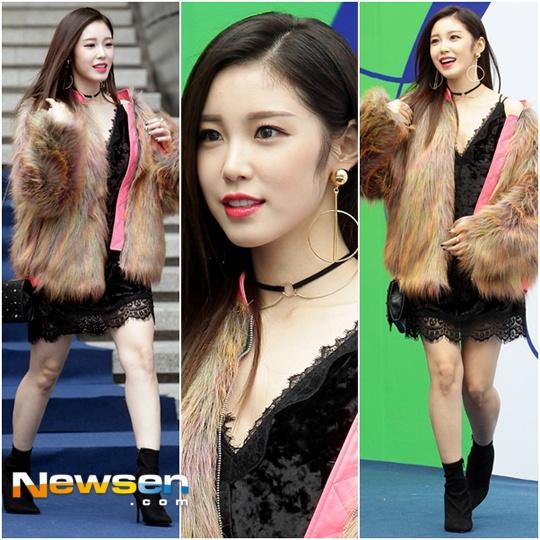 Sao Han chuong phong cach ca tinh o Seoul Fashion Week hinh anh 6