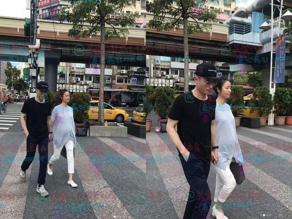 Lam Tam Nhu bung bau 6 thang nam chat tay chong tren pho hinh anh 1