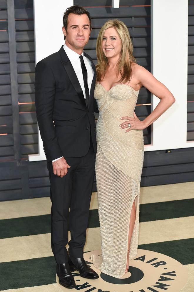 Vo chong Justin va Jennifer Aniston truc trac anh 3