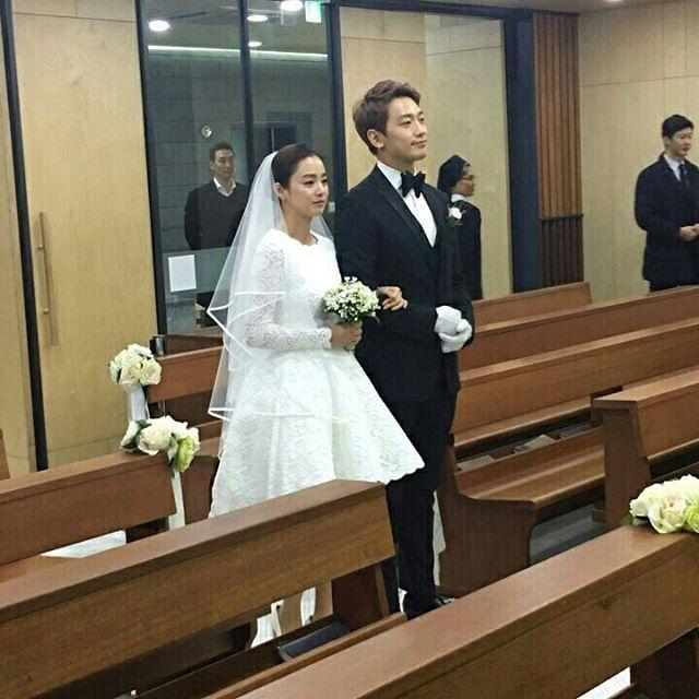 Anh hiem hoi cua Kim Tae Hee - Bi Rain trong le cuoi hinh anh 1
