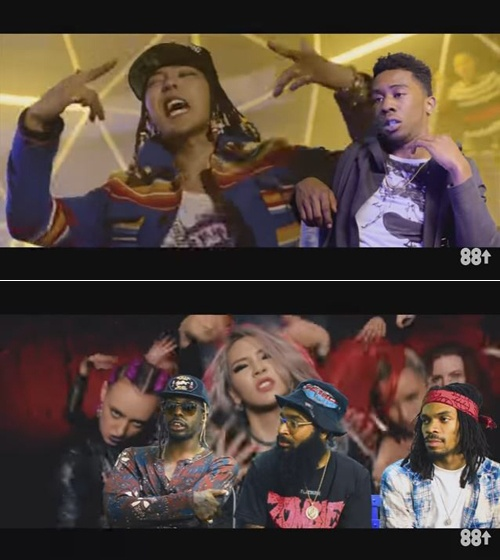 Rapper My bat ngo truoc kha nang cua G-Dragon va CL hinh anh 1