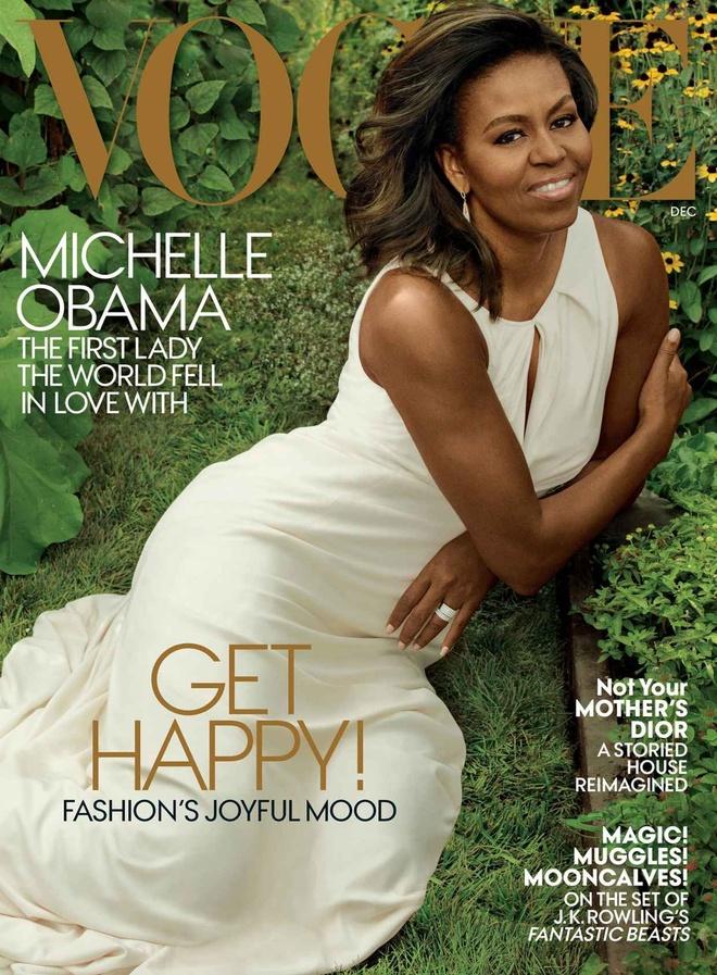 Michelle Obama xuat hien tren Vogue o Nha Trang lan cuoi hinh anh 1