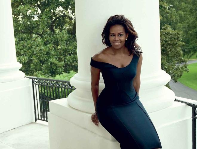 Michelle Obama xuat hien tren Vogue o Nha Trang lan cuoi hinh anh 2