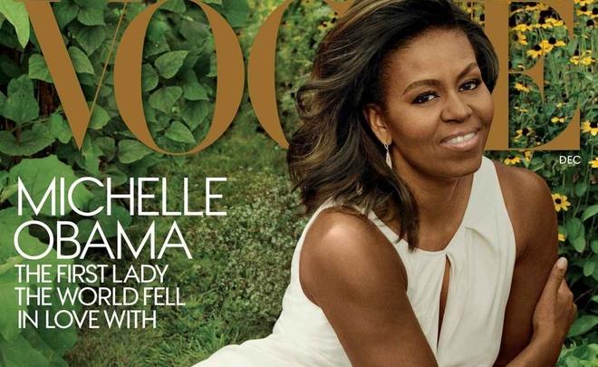 Michelle Obama xuat hien tren Vogue o Nha Trang lan cuoi hinh anh
