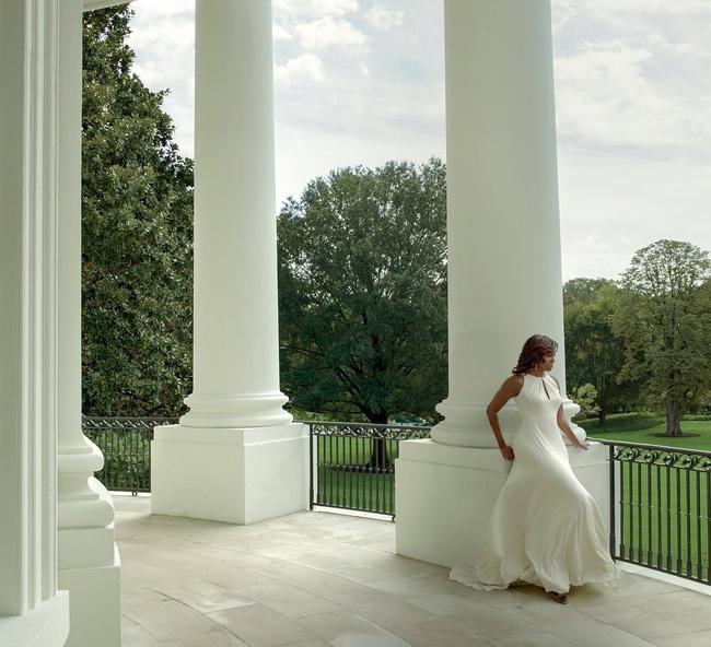 Michelle Obama xuat hien tren Vogue o Nha Trang lan cuoi hinh anh 4