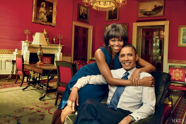 Michelle Obama xuat hien tren Vogue o Nha Trang lan cuoi hinh anh 5