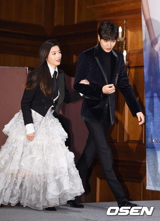 Jun Ji Hyun mac ruom ra ben Lee Min Ho hinh anh 1