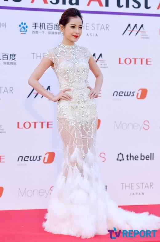 Chi Pu nhan giai tai Asia Artist Awards anh 2