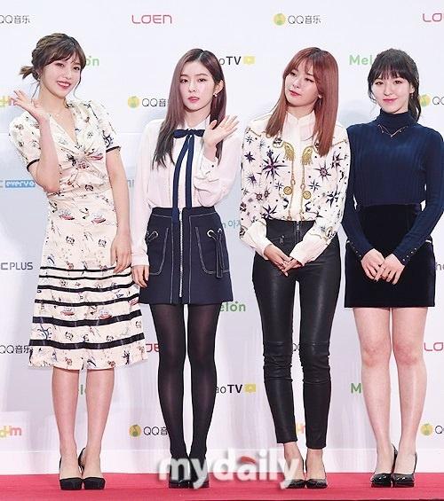 Dan sao Han khoe sac tren tham do Melon Music Awards 2016 hinh anh 11
