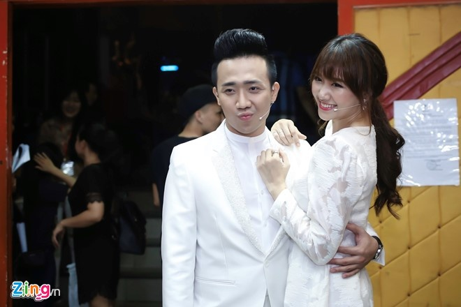 Dam cuoi Hari Won va Tran Thanh anh 1