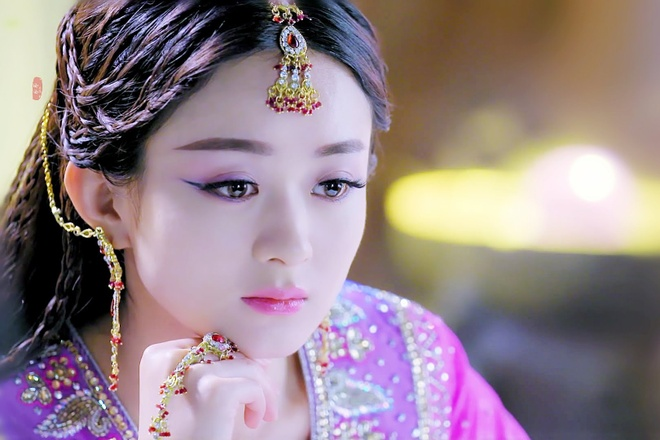 Trieu Le Dinh tro thanh Quoc vuong nu nhi trong 'Tay du ky'? hinh anh