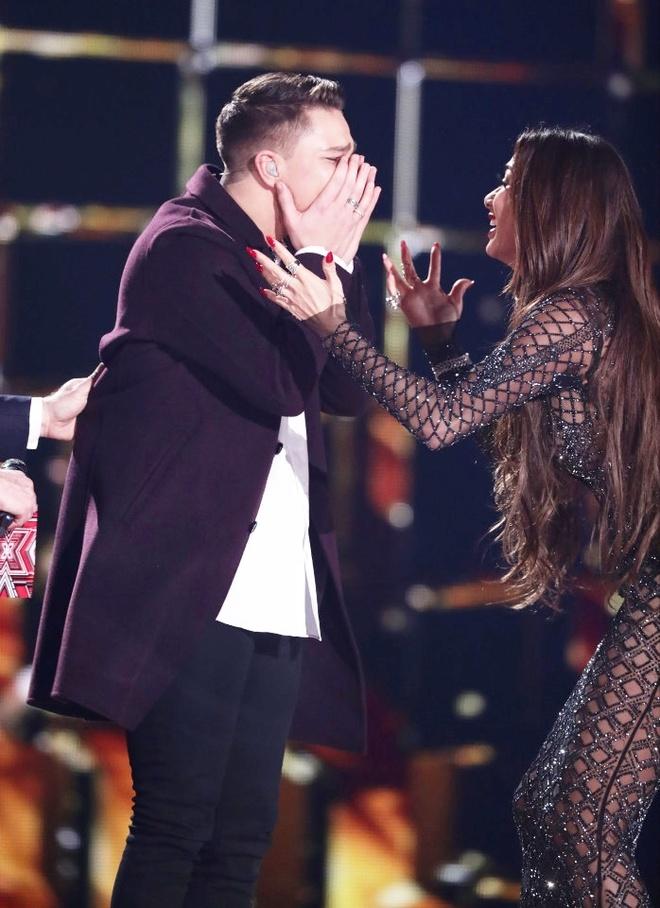 Matt Terry dang quang X Factor 2016 anh 1