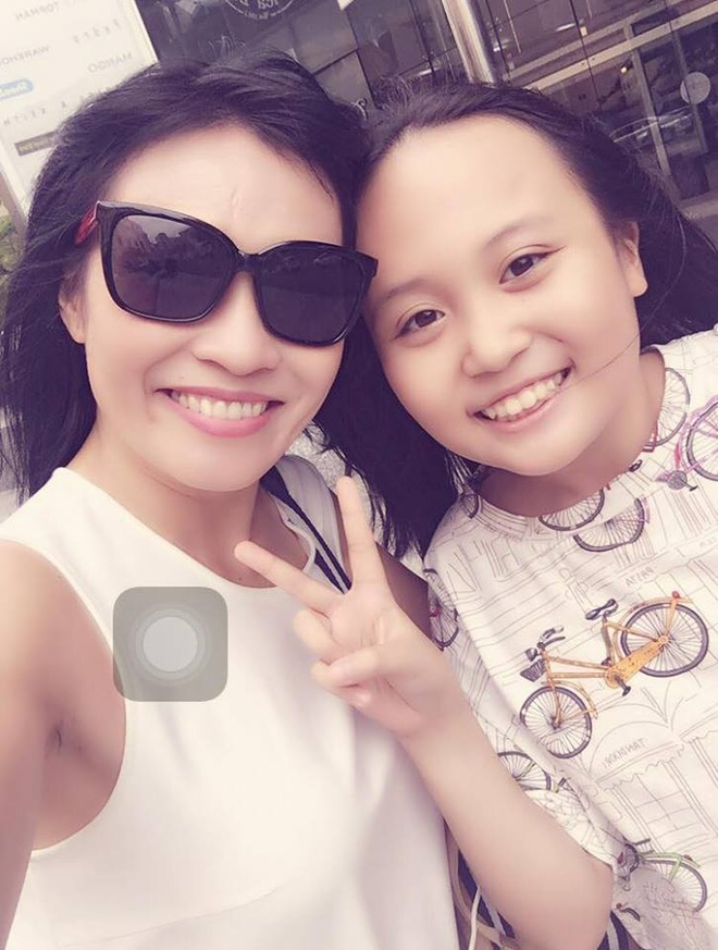 Phuong Thanh khoe anh con gai anh 2