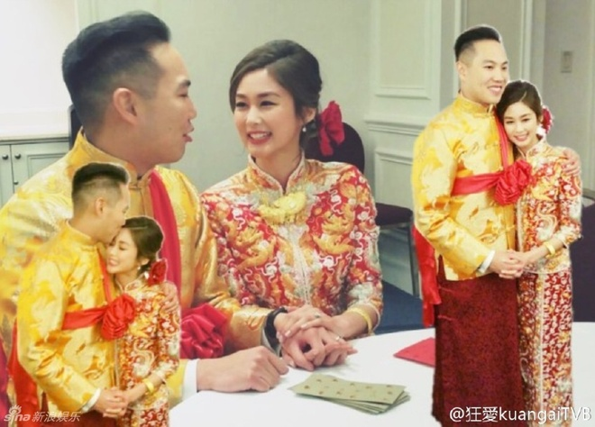 Hoa dan TVB va ban trai bat ngo to chuc hon le o Canada hinh anh 2