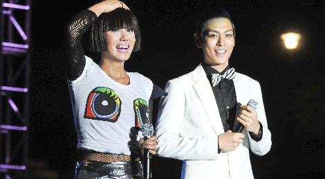 T.O.P (Big Bang) tai ngo dan chi goi cam tren san khau hinh anh