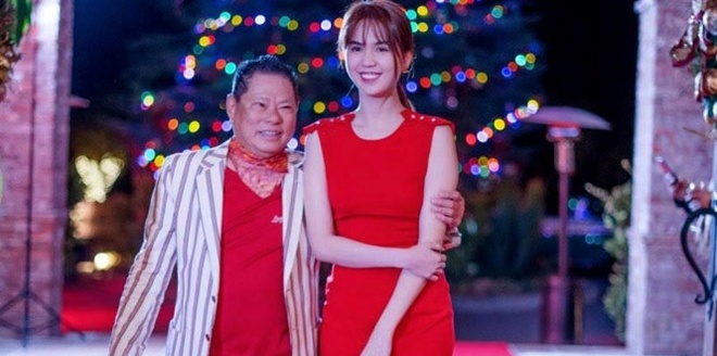 Ty phu Hoang Kieu khoe video don Ngoc Trinh o My hinh anh