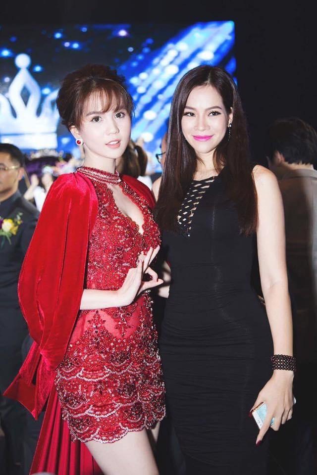 Con dau ty phu Hoang Kieu lam moi Ngoc Trinh anh 1