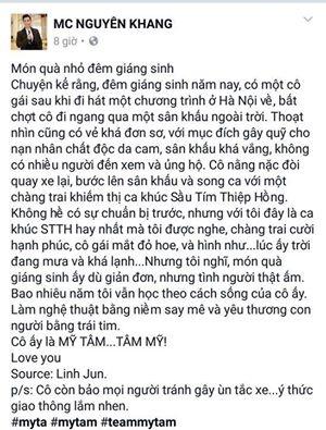 Hoai Linh noi ve My Tam: 'Ten em da noi len tat ca' hinh anh 2