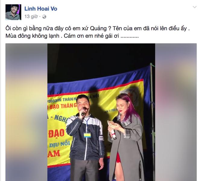 Hoai Linh noi ve My Tam: 'Ten em da noi len tat ca' hinh anh 1