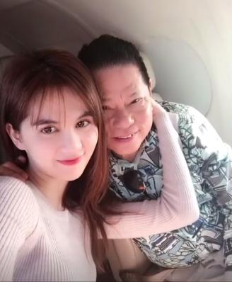 Ngoc Trinh hanh phuc ben Hoang Kieu anh 5