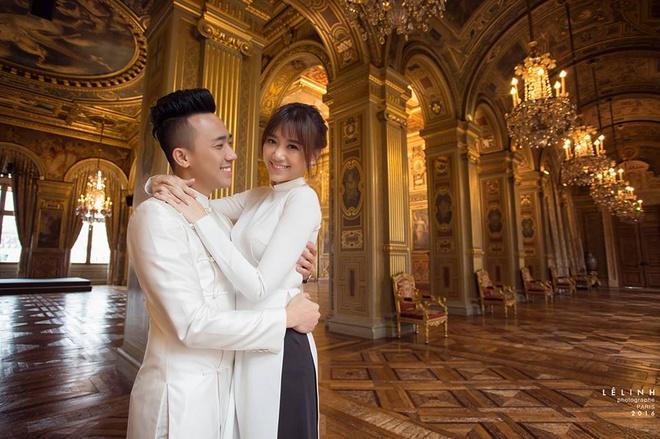 Bo anh cuoi lang man cua Tran Thanh va Hari Won o Phap hinh anh 1