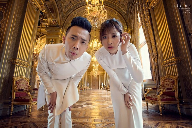 Bo anh cuoi lang man cua Tran Thanh va Hari Won o Phap hinh anh 7