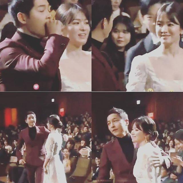 Song Joong Ki che mat sao nhi vi canh hon voi Song Hye Kyo hinh anh 3