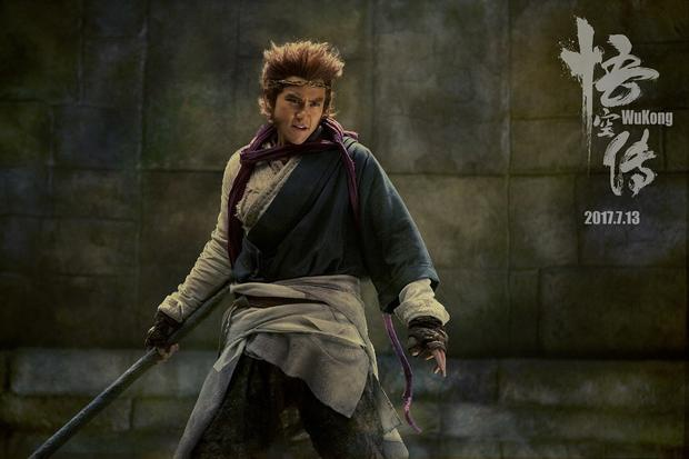 'Vua khi' Ton Ngo Khong tro thanh soai ca trong phim moi hinh anh 1
