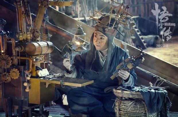 'Vua khi' Ton Ngo Khong tro thanh soai ca trong phim moi hinh anh 9