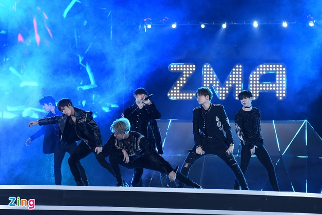 GOT7: Dot nong Zing Music Awards anh 3