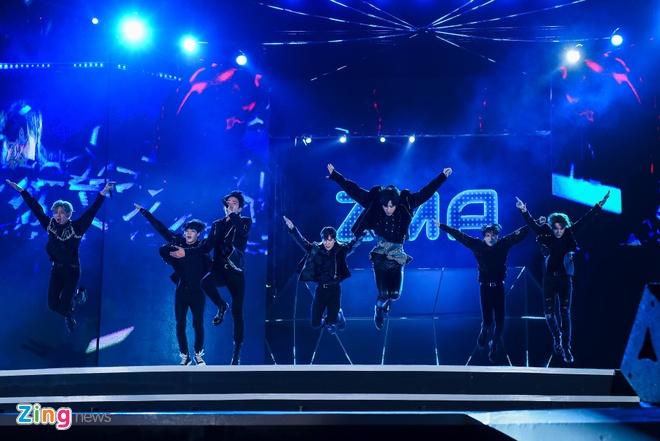GOT7: Dot nong Zing Music Awards anh 4