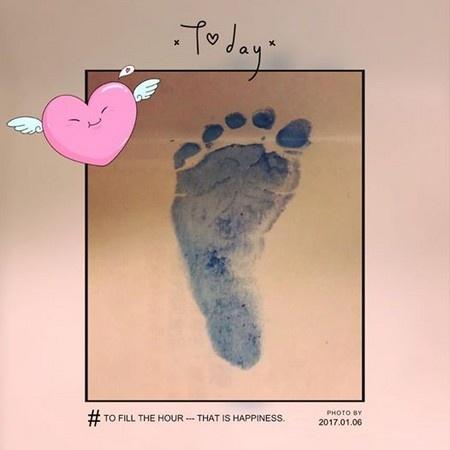 Lam Tam Nhu sinh con gai anh 1