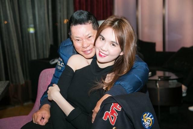Ty phu Hoang Kieu ngot ngao ben Ngoc Trinh anh 3