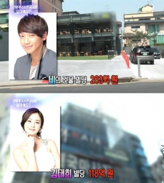 Kim Tae Hee va Bi Rain chi 1.100 USD cho le cuoi anh 3