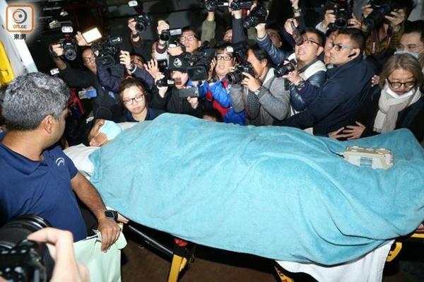 Luu Duc Hoa van bat dong sau khi bi ngua giam len lung hinh anh 2