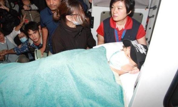 Luu Duc Hoa van bat dong sau khi bi ngua giam len lung hinh anh
