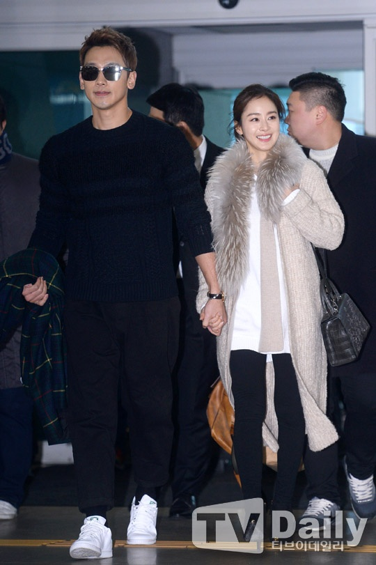 Kim Tae Hee va Bi Rain lan dau xuat hien sau dam cuoi hinh anh 1