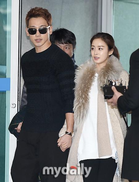 Kim Tae Hee va Bi Rain lan dau xuat hien sau dam cuoi hinh anh 3