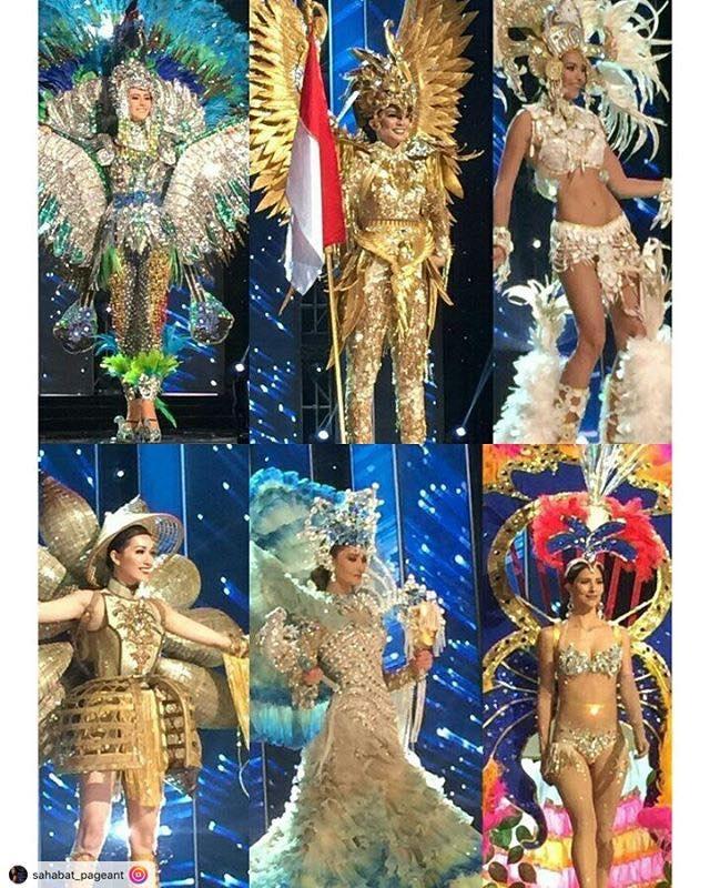Ban ket Miss Universe: Le Hang noi bat voi quoc phuc la hinh anh 3