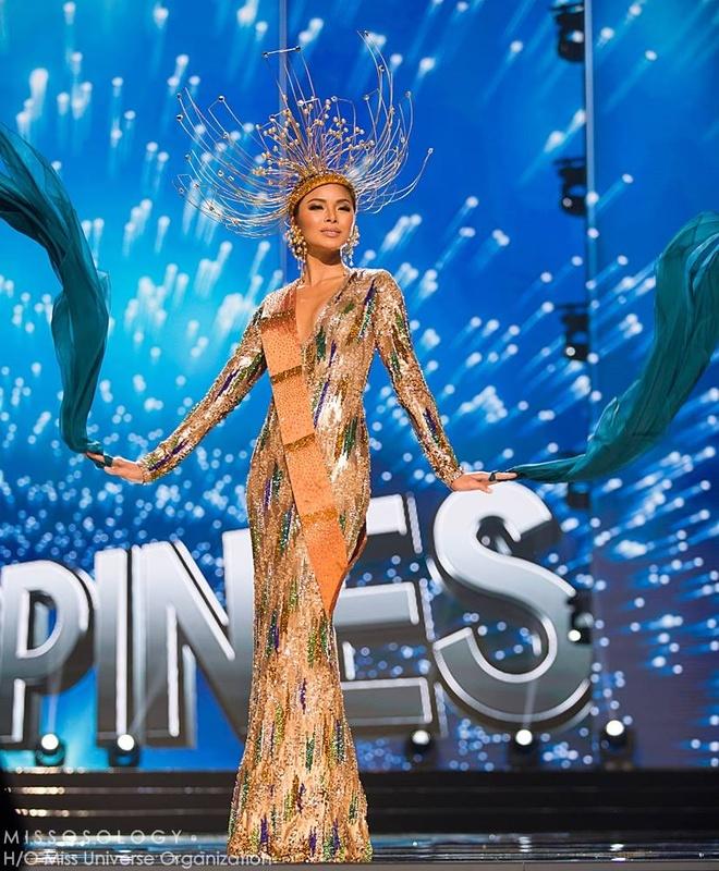 Ban ket Miss Universe: Le Hang gay tranh cai o cac phan thi hinh anh 7