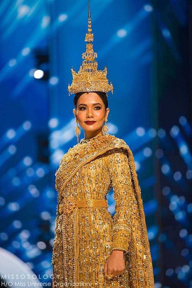 Ban ket Miss Universe: Le Hang gay tranh cai o cac phan thi hinh anh 12