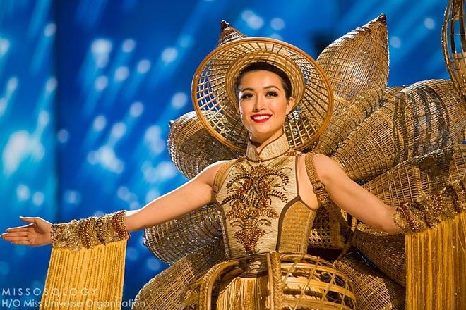 Ban ket Miss Universe: Le Hang gay tranh cai o cac phan thi hinh anh 1