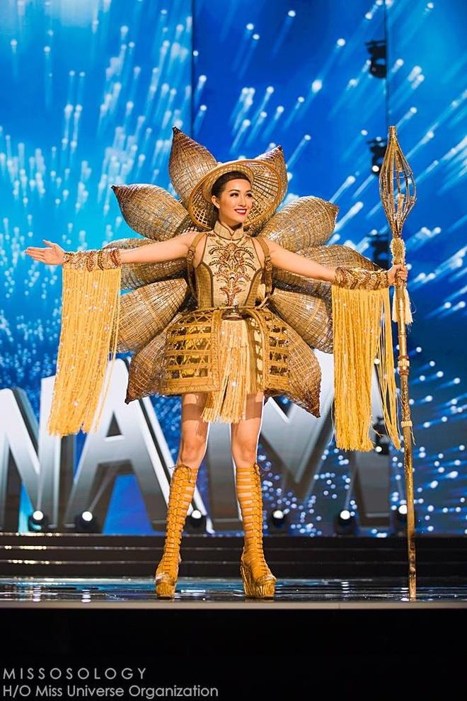 Ban ket Miss Universe: Le Hang gay tranh cai o cac phan thi hinh anh 4