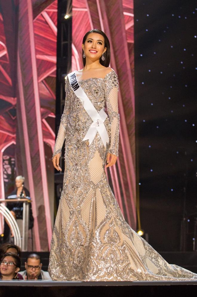 Ban ket Miss Universe: Le Hang gay tranh cai o cac phan thi hinh anh 5