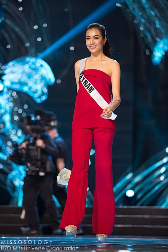 Le Hang tong duyet Miss Universe anh 1