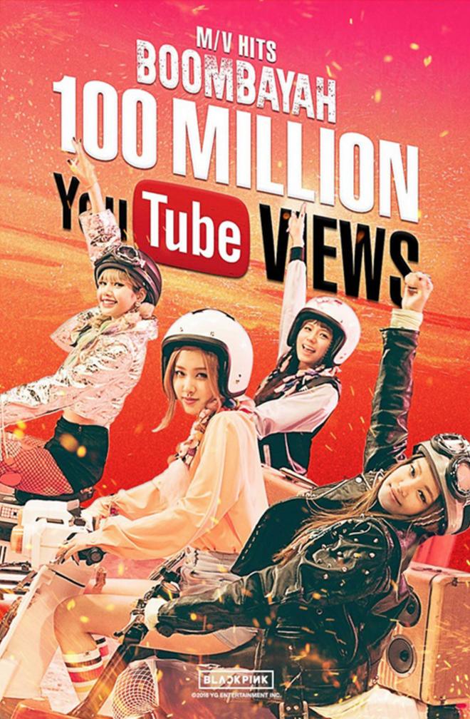 Nhom nu Han Black Pink lan dau co MV dat 100 trieu luot xem hinh anh 1