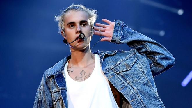 Justin Bieber va Kanye West muon bo Grammy 2017? anh 1