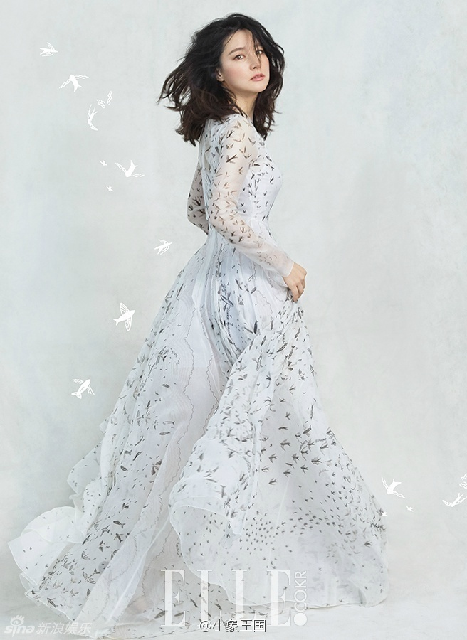 Lee Young Ae duoc chinh sua trong loat anh moi anh 2