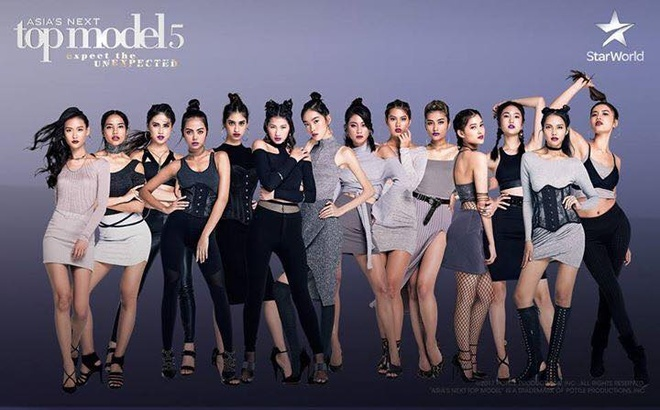 Minh Tu thi Asia's Next Top Model, duoc don doat giai a quan hinh anh 1